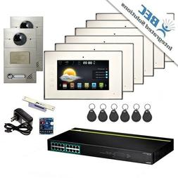 6 Monitor Apartment Home Security Remote Surveillance Video