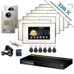 7 Monitor Apartment Home Security Remote Surveillance Video