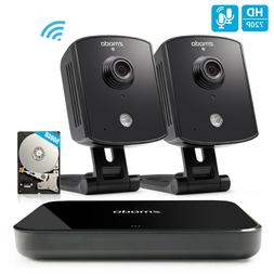 Zmodo 720p Smart Wireless Indoor Security Camera System Two-