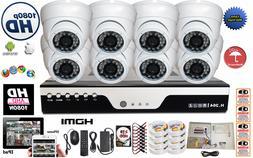 8 Channel Port 1080P HD-CCTV Complete Surveillance Security