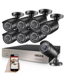 8 Camara De Seguridad Para Casas CCTV 720P Vision Nocturna S