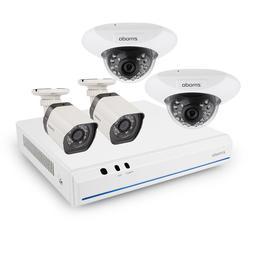 Zmodo 8 CH 720p NVR system 4 Cameras 1TB HDD