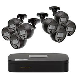 Q-See 8-CH 1080P Analog HD DVR, 8-1080P Passive Infrared Bul