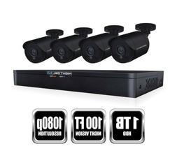 Night Owl 8-Channel 1080p 1TB DVR Security Surveillance Syst
