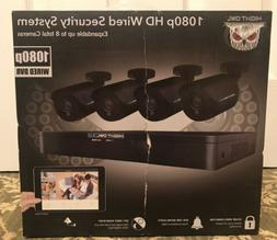 Night Owl 8-Channel 4-Camera 1080p Security System w/ 1TB HD