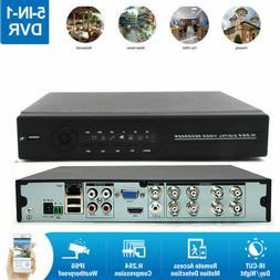 8CH H.264 5in1 1080N DVR Digital Video Recorder Motion Alert