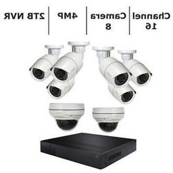 Q-See Home Security System 16 Channel 4K Ultra HD NVR with 2