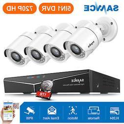 SANNCE 8CH 1080N Video 5in1 DVR Outdoor 720P IR CCTV Securit