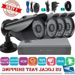 8CH 1080P 1080N AHD DVR Camera Security System Surveillance
