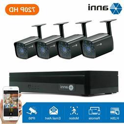 anni 8CH 1080P DVR 1TB HDD IR Night Smart Alarm CCTV Home Se