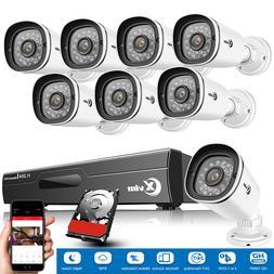 XVIM 8CH 1080P Outdoor Security Camera System Surveillance I