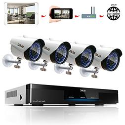 ELEC 1080N HD Outdoor Home Security Camera System CCTV Video