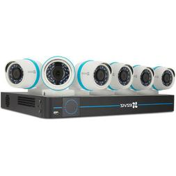 8ch 4mp security system with 6 outdoor