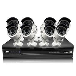 Swann 8CH 8CAM NVR Security Kit - SWNVK-873008-US