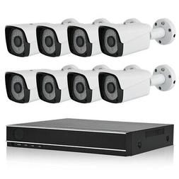 8CH AHD DVR Kit HD IP Camera Video HD Outdoor Security Surve