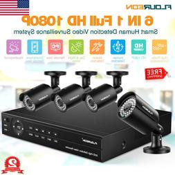 8CH CCTV Security Camera System HD 1080P Outdoor Video Surve