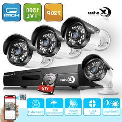 XVIM 8CH DVR Security Camera System CCTV 720P Outdoor Home S