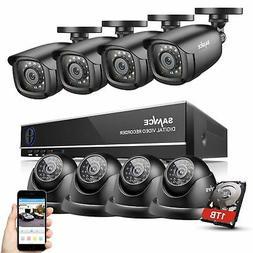 SANNCE 8CH 1080N HDMI DVR 720P IR Cut CCTV Video Home Securi
