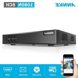 ANNKE 8CH HD 1080N 5in1 HDMI DVR Video Recorder for CCTV Sec
