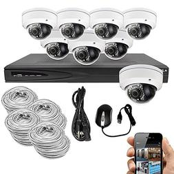 Best Vision Systems 8CH 4TB IP NVR Security Surveillance Sys