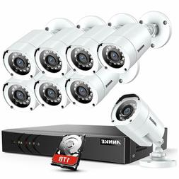 ANNKE 8CH Security CCTV Surveillance System 1080P Lite DVR w