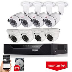 8ch security system