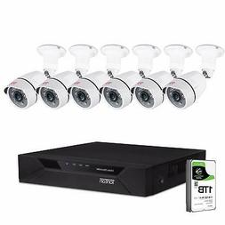 Tonton 8CH Full HD 1080P Security Camera System, Surveillanc