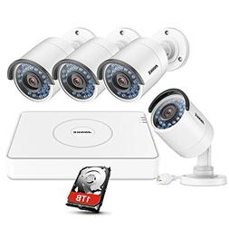 ANNKE HD 1.3-Megapixel 8Ch Smart Network POE Security System