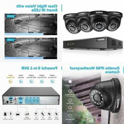 ANNKE 8CH HD-TVI Security Camera System 1080P Lite DVR Recor