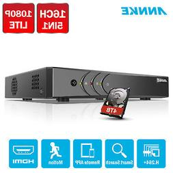 ANNKE H.264+ 16CH/ 8CH/ 4CH 1080P Lite 5in1 DVR Video Record