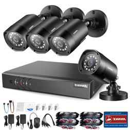 ANNKE HD 8CH 1080P Lite DVR 2500TVL Outdoor 24IR Home Securi