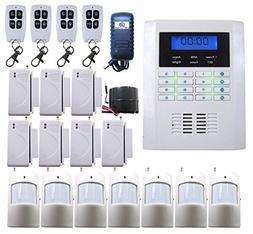 DBPOWER Ja-10bgsm 101 Zones Wireless GSM Home Security Alarm
