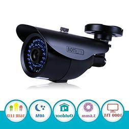 "EWETON 1/3"" 960H 1000TVL CCTV Home Surveillance Camera 3.6mm"