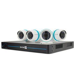 Ezviz - 8-channel, 4-camera Indoor/outdoor Wired 1080p 2tb N
