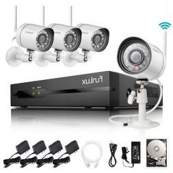 Funlux 2-Minute-Setup Smart Wireless Security Camera System,
