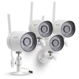 Funlux 720p Smart Security Camera System, 4x HD Wireless IP