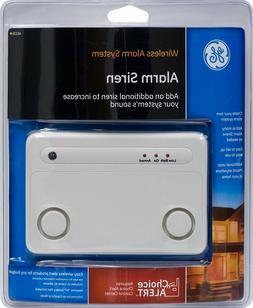 GE Choice Alert Wireless Alarm System Alarm Siren
