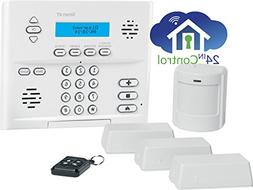 Interlogix Simon XT Home Security 3/1/1 Kit, Crystal Wireles