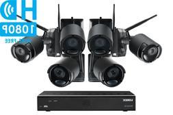 LOREX Surveillance Security Camera System 6 Wireless Battery
