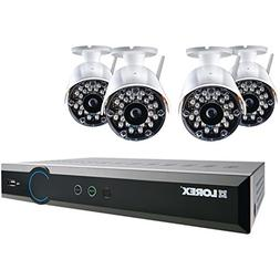 Lorex - 8-channel, 4-camera Indoor/outdoor Wireless Dvr Secu