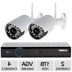 Lorex by FLIR Eco Blackbox3 4-Channel 1TB HDD DVR with 2x Wi