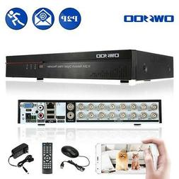 OWSOO 16Channel Full CIF CCTV DVR Video Recorder Security Ca