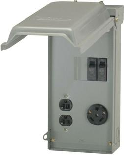 Power Outlet Intel Box Electrical System Lockable Security G