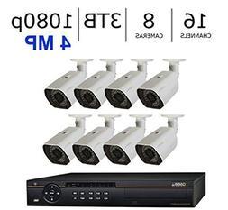 Q-See QC8816-8AU-3 16 Channel HD Digital Security System wit