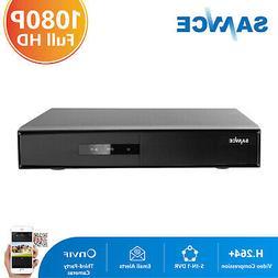 SANNCE 16CH 1080N DVR Record Video H.264 Home Surveillance S