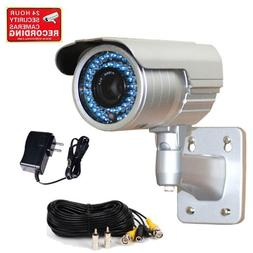 "VideoSecu 690TVL 1/3"" Pixim DPS Sensor Zoom Infrared CCTV Se"