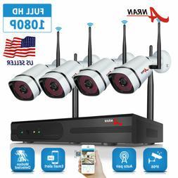 Wireless 8CH 960P CCTV NVR Outdoor WIFI HD IR Camera Securit