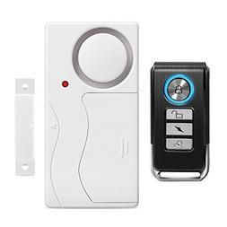 Wsdcam Door Alarm Wireless Anti-Theft Remote Control Door An