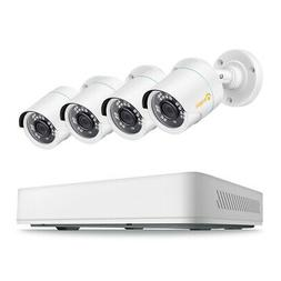ZOSI 4 Channel 1080P NVR 2MP POE Security Camera System Outd