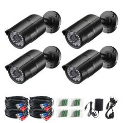 ZOSI 4 PACK 1080P 4in1 HD Camera Outdoor CCTV Home Security